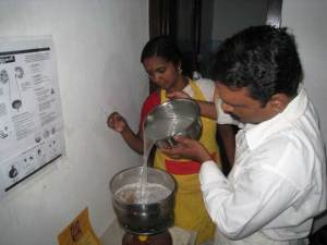 Pouring in the Decoction of Amalaka