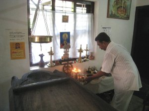 Offerings at Altar
